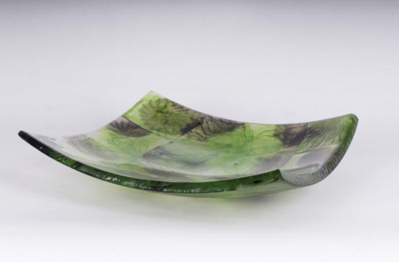 Schale (grün/schwarz/kristall)