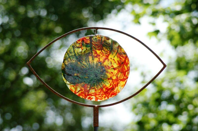 Gartenstecker (Auge)