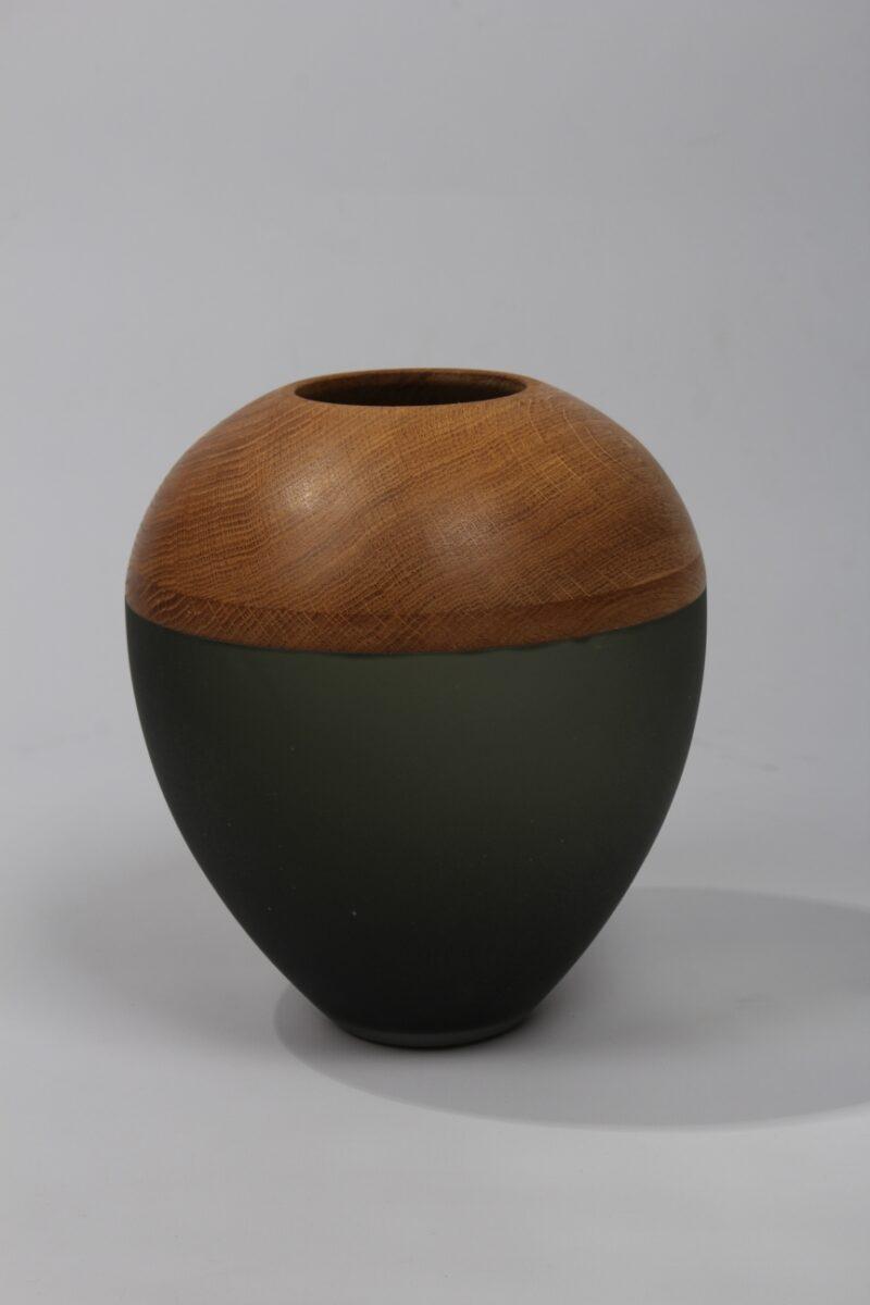 Vase (rauchgrau)