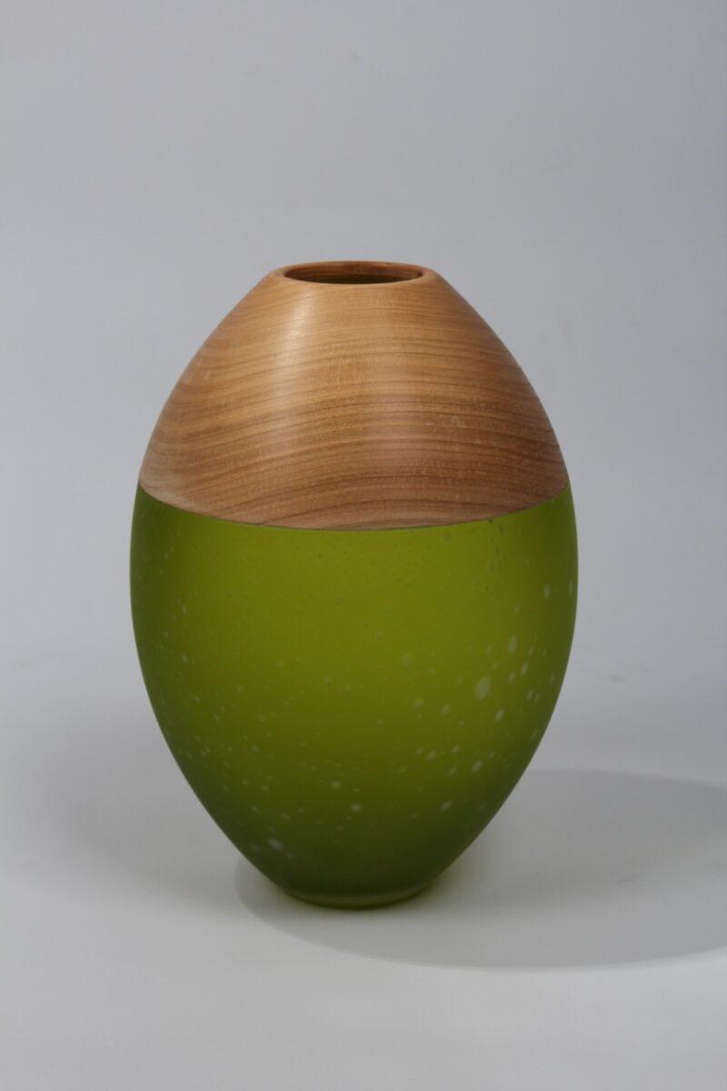 Vase (citronengelb)