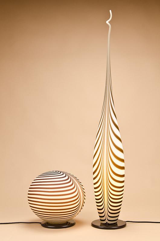 Glas Schmid - Tischleuchte African