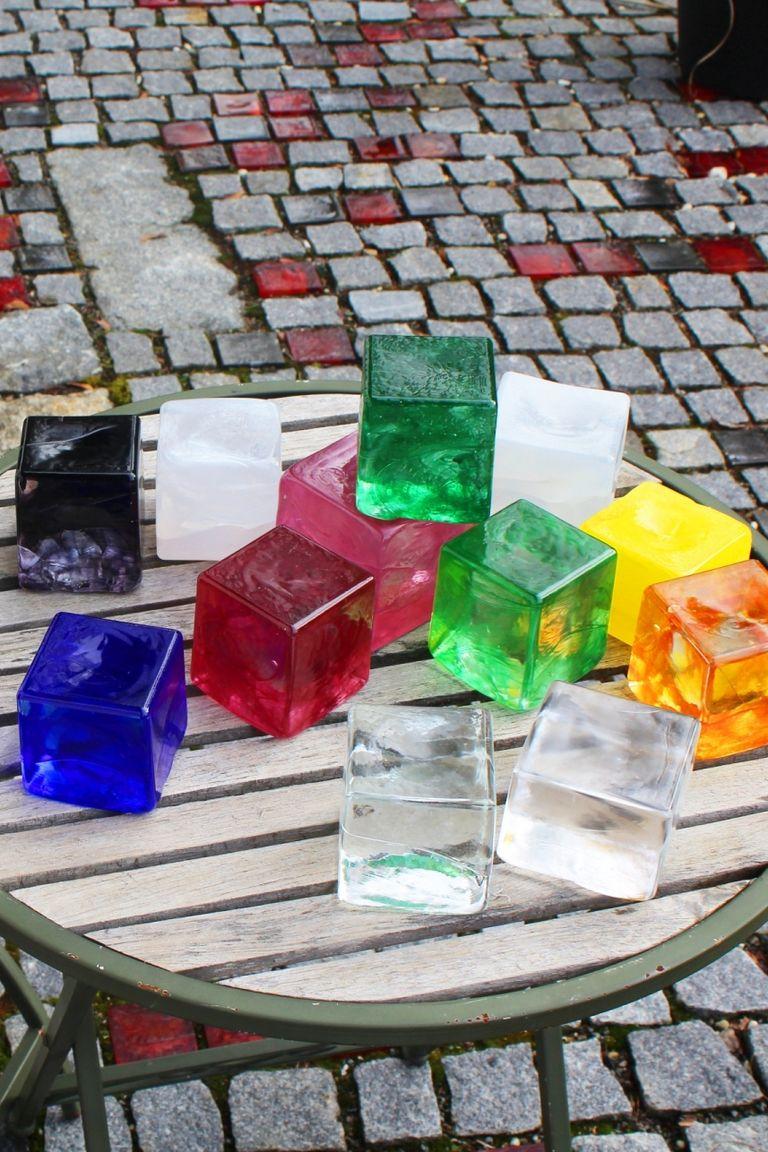 Glaspflastersteine
